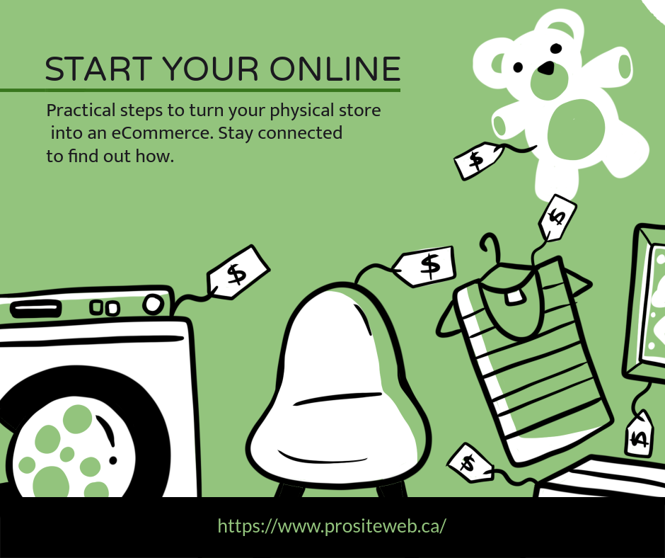 Turn your physical store into an eCommerce