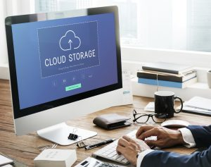 Cloud storage upload and download data management technology