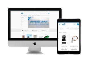 Consultation et développement web pour Controls Dépôt