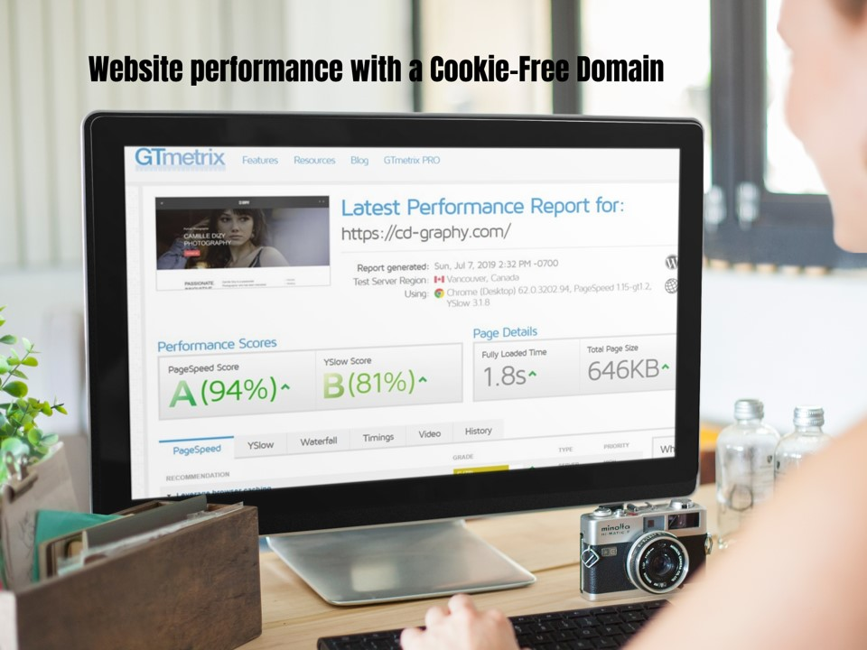 how to create a Cookie Free domain