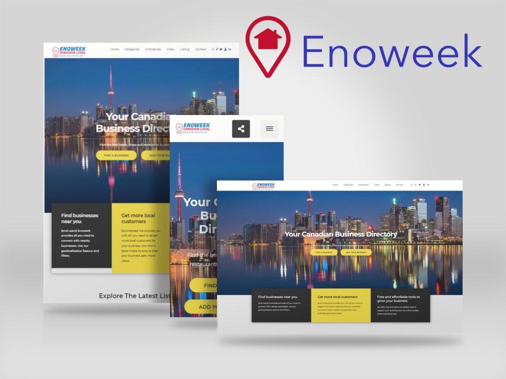 Enoweek - Répertoire des entreprises canadiennes