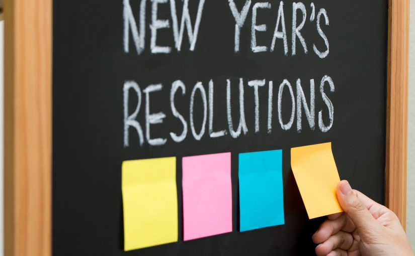 Think about 2018 Resolutions - August motivation
