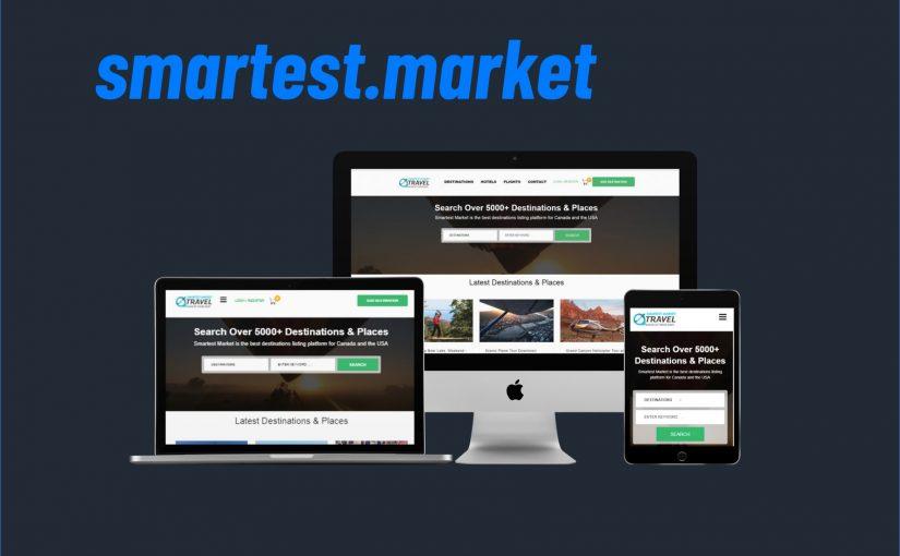 développement du site Smartest Market