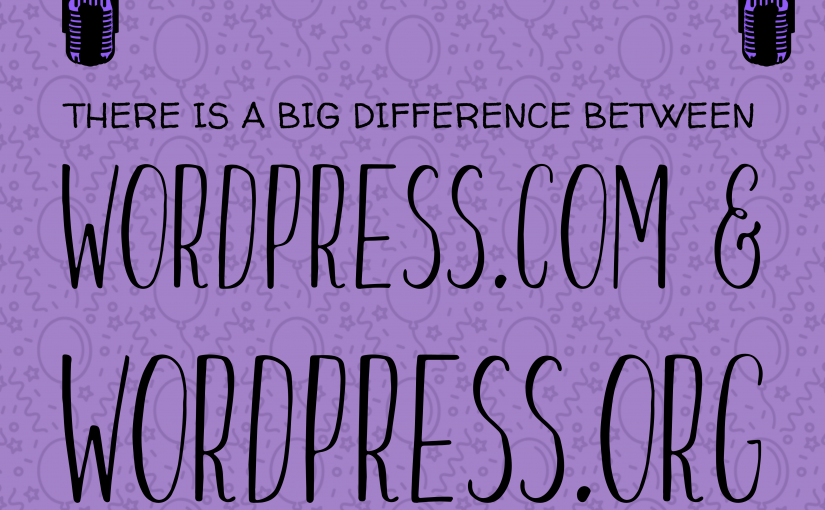 Differences between WordPress versions: WordPress.com and WordPress.org