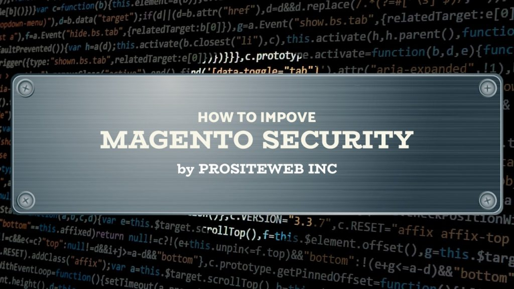How to improve security of your Magento open-source Website