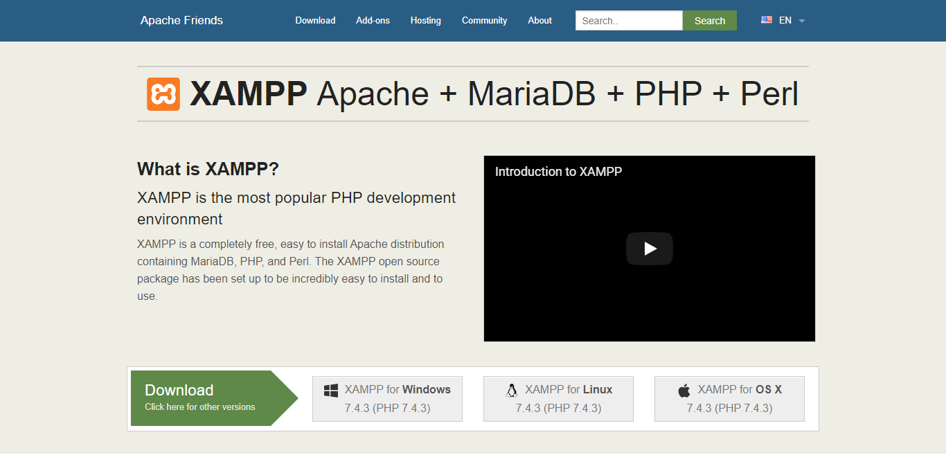 Apache Friends XAMPP