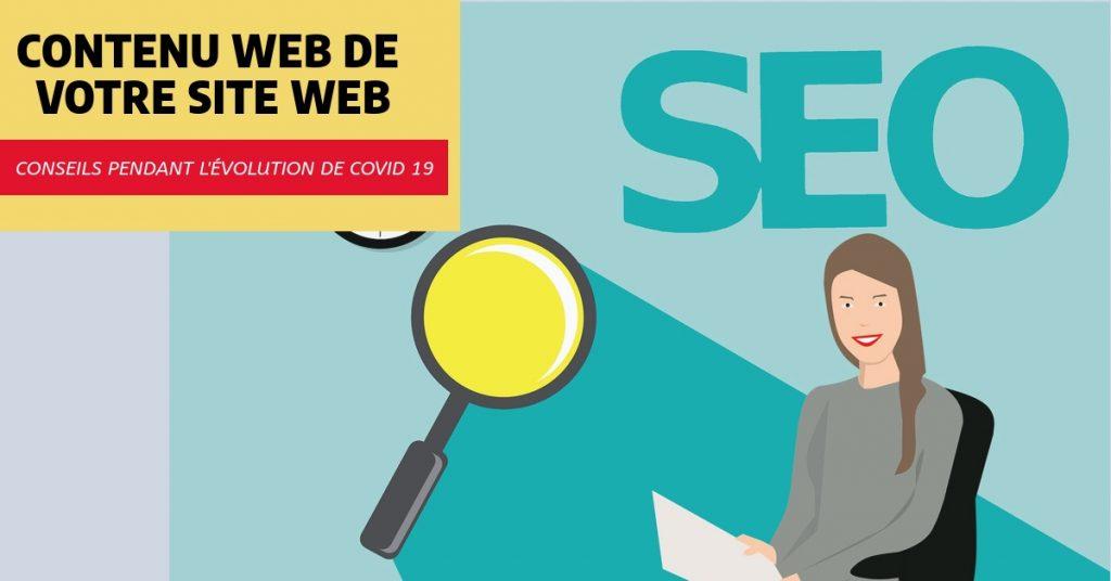 Améliorez le contenu web de votre site