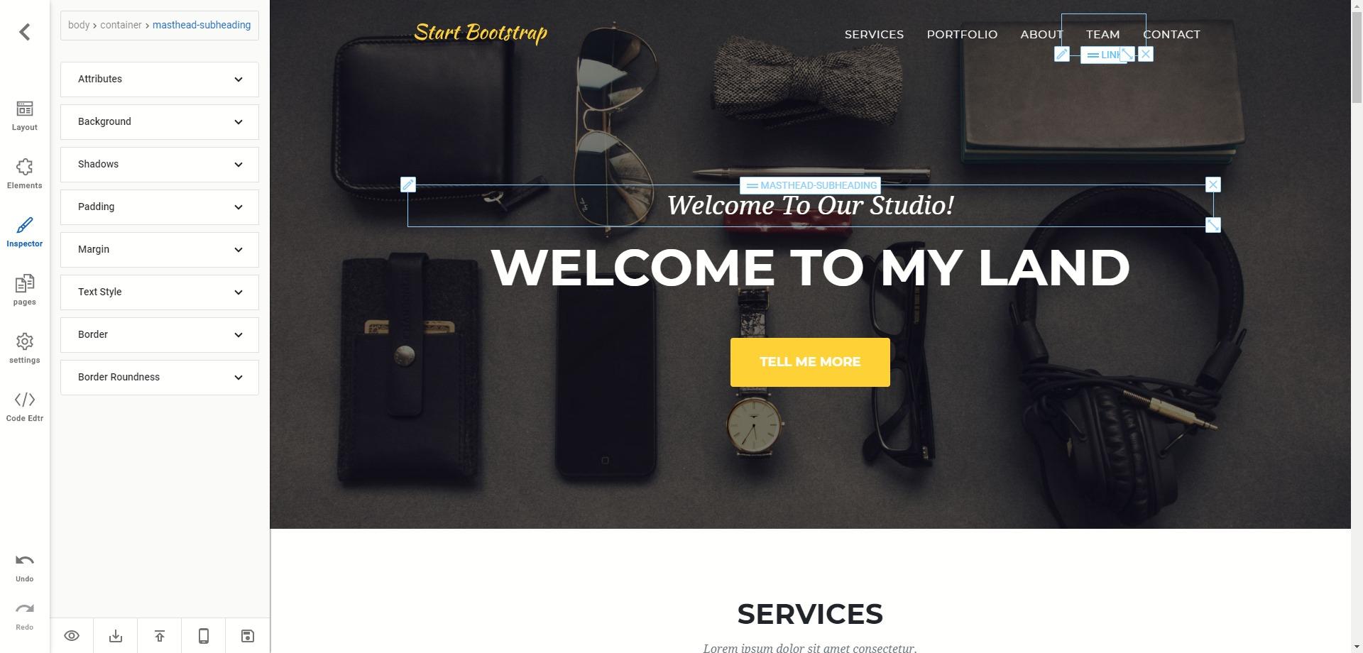 Export ou publication du site