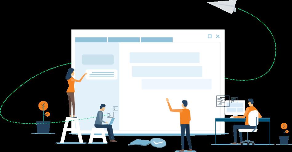 Services diversifiés en conception de sites web et applications
