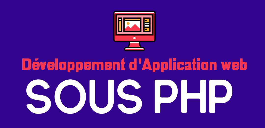 Développement d'Application web sous PHP