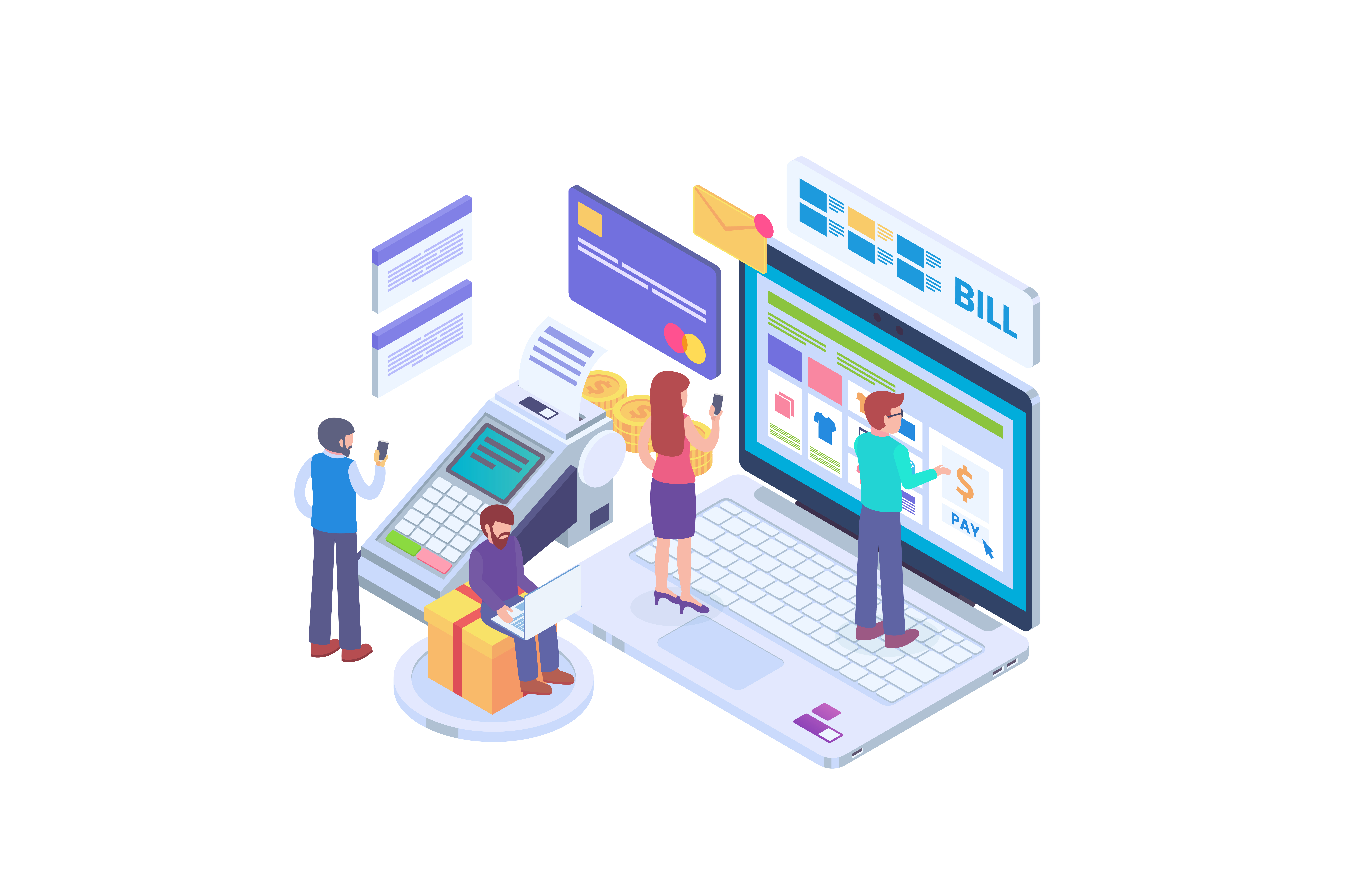 Website design thanks to Drupal