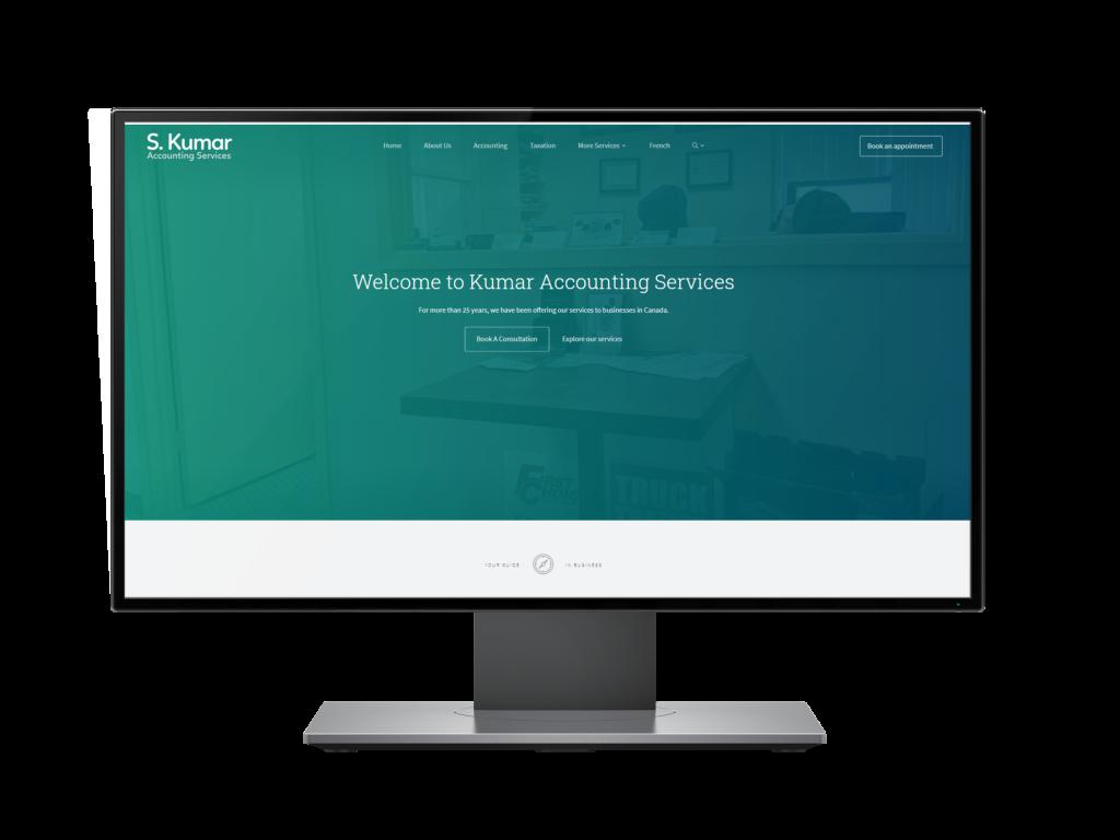 Site Internet de S Kumar Services Inc