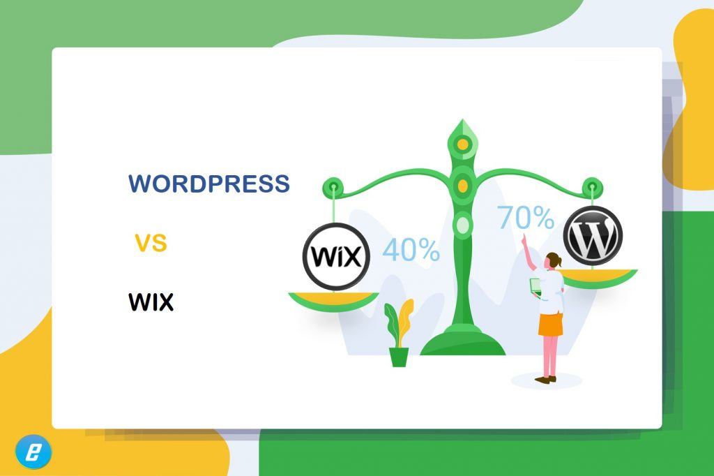 A comparison between wix and WordPres (open-source)